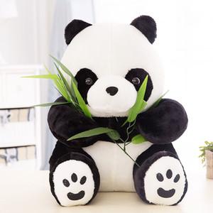 Atacado barato Qualidade NT Sentado Bonito PANDA URSO De Pelúcia Animal De Pelúcia Macia Boneca de Brinquedo Bonito Presente