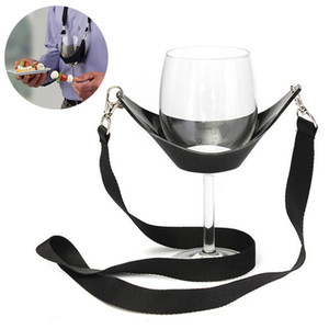 Portable Wine Glass Lanyard Holder Straps Party Birthday Gifts Wholesale Bar Tools