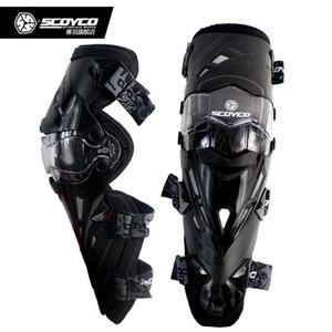 5 Cores Scoyco Brand New K12 Motocicleta Joelho Protetor de Corrida de Joelhos Motocross Guard Pads
