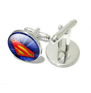 Avrupa ve Amerika Birleşik Devletleri Superman Peugeot Gem Kol Düğmeleri Kollu Tırnak