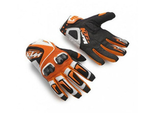 Free Shipping 2019 racing gloves Leather for KTM Motorcycle Gloves men Carbon Fiber Gloves Motorbike Motorcross ATV Worldwide