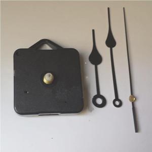 Home relógios DIY relógio de quartzo movimento Kit Black Clock acessórios Spindle Mechanism Repair com conjuntos de mão Shaft Length 13 Best