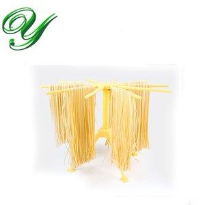 Pasta séchage rack Spaghetti séchoir Stand plateau 10 cintres nouilles pliable faisant la machine ravioli cuisine gadget outils de stockage étagères