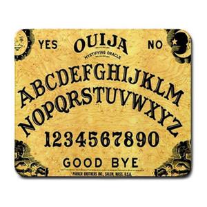 뜨거운 Ouija 널 수수께끼 악마 초자연 큰 마우스 패드 Mousepad 매트