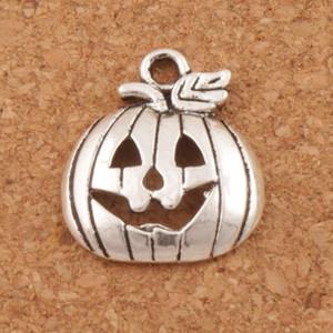 Хэллоуин тыквы милый микрофон Антикварные серебряные подвески 200 шт. / лот мода 18.3x15.8 мм подвески ювелирные изделия DIY L1098