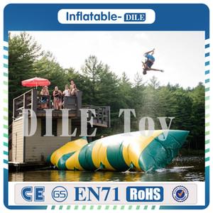 Kostenlose Lieferung 5x2m Beliebte Wasserspiel Hot Inflatable Water Blobs Jump Ballon, Wassertrampolin Blob Zum Verkauf
