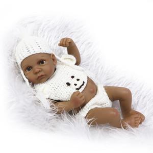 10 인치 환생 아기 인형 소년 전체 실리콘 몸매 Bebe Reborn Baby Dolls 민족 살아있는 인형 Brinquedo Jugueates
