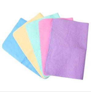 الجملة العرض OPP التعبئة والتغليف بولي المقلدة الأيل جلد منشفة ماصة منشفة الحيوانات الأليفة المياه الكبيرة 66 * 43CM 170G