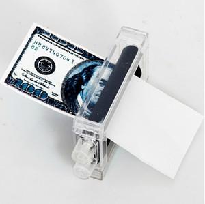 2017 Nuevo Efectivo Billete de Banco Impresora Máquina de Impresión de Dinero Truco Mágico Kit de Herramientas Engañando Juguete de Regalo para la fiesta show