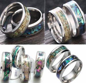 Мужчины Женщины нержавеющая сталь цвет оболочки кольца карбида вольфрама палец кольцо обручальное кольцо Оптовая 2017 новый горячий ювелирные изделия много
