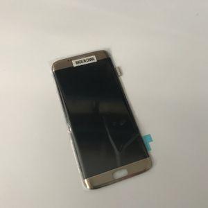Samsung Galaxy S7 Kenar G935 için Yeni Orijinal LCD Dokunmatik Ekran Digitizer Yedek Parçalar