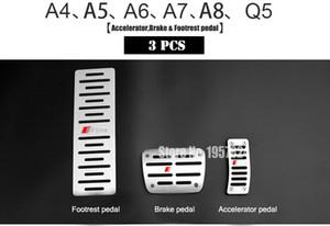 Design originale slitta Aerospace In lega di alluminio Pedale acceleratore per auto A4 A5 A7 A8 Q5 Q3 Q7 A3 A6 TT