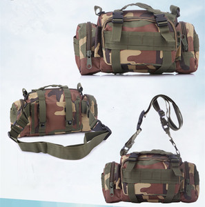 Deportes al aire libre que viajan que acampan que va de excursión bolsos Multifuncional impermeable 3P Tactical Military Bag Waistpacks Bolsos de hombro Mochila