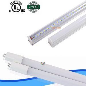 bi pim G5 taban T5 led tüpler ışık 2ft 3 ft 4 ft Entegre yeni tasarımı ile tüpleri led dahili güç kaynağı AC 110-265V