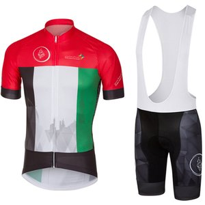 UAE DUBAI TOUR mens Ropa Ciclismo Vêtements de vélo / Vêtements de vélo VTT / Vêtements de vélo / 2019 uniformes de cyclisme Maillots de cyclisme 2XS-6XL L9