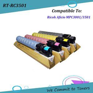 Ricoh C3501, 841.578 841.421 Ricoh Aficio MPC3001 / C3501 için Uyumlu Toner Kartuşu - 841423; BK - 22500 C / M / Y - 15.000 sayfa