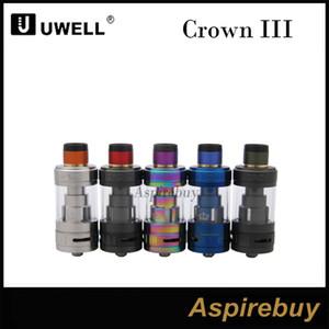 Uwell Crown 3 Sub-Ohm serbatoio Crown III 5ml Top Fill Design con tappo Twist Off Innovativo sistema di bobine a spirale Triple flusso d'aria slot 100% originale