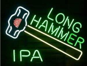 New Red Hook Long Hammer Ipa Budweiser Fiesta Marquee Neon Sign Glass Neon Sign Glass Neon Sign Light