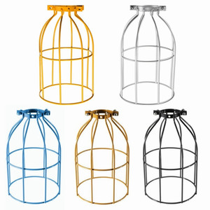 The Best Quality Vintage Steel Bulb Guard Clamp On Metal Lamp Cage Retro Trouble Light Industrial