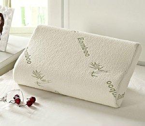Original Bamboo Fiber Pillow Slow Rebound Health Care Memory Foam Pillow Memory Foam Pillow Support The Neck Fatigue Relief