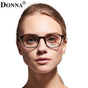 Großhandel- Donna TR90 Anti Computer Blue Laser Ermüdung Strahlenresistente Brillen Brille Brille Frauen Optische Rahmen Oculos de DN03