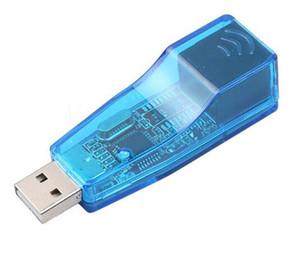 Компьютеры Сеть USB 2.0 для LAN RJ45 Ethernet Сетевой адаптер для карт USB для RJ45 Ethernet-конвертер для ноутбука Win7 Tablet PC