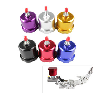 RASTP - colorido Drift hidráulico del freno de mano del tanque de aceite para el freno de mano Depósito de líquido de freno E-Negro Rojo Oro Azul RS-HB902