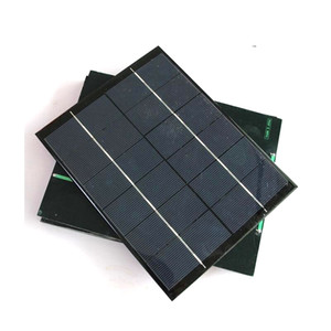 High Quality 5.2W 6V Solar Cell Module Polycrystalline MDIY Solar panel Charger System 210*165MM Free Shipping