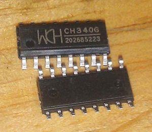 10 pçs / lote CH340G SOP16 IC R3 Placa Livre USB Cabo Serial Chip SOP-16 CH340 SOP novo e original