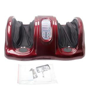 Presentes de natal Massager Do Pé Elétrico Circulação Sanguínea Ozônio Reflexologia Infravermelho Pés Máquina De Massagem Livre EUA Entrega