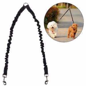 Accoppiatore per cani da compagnia Bungee Guinzaglio a due passi Piombo Guinzaglio elastico a due cani