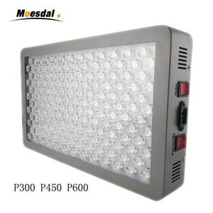 Plant medical light P300 P450 P600w LED élève le spectre complet de la lumière 12 bandes pour les plantes d'intérieur ainsi que le contrôle de floraison avec lentille en verre optique
