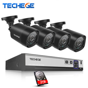 4CH CCTV SYSTEM 4K 48V POE NVR 4MP POE IP Camera 2592*1520 Outdoor Security Camera Email alert Home Surveillance System