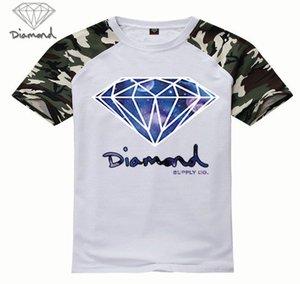 freies shiping s-5xl Y81200P neue Art-Diamant-Versorgungs T-Shirt Art und Weise T-Shirts Tops Bunte Short Leather Sleeve heißen verkauf