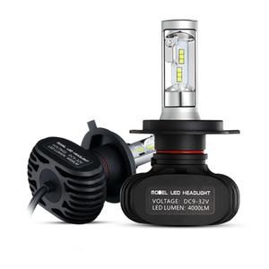 H4 / H7 / H11 / H13 / 9005 (HB3) / 9006 (HB4) Le phare de voiture de LED simple / salut-bas faisceau CSP ébrèche automatiquement les ampoules d'antibrouillard de phare 6500K