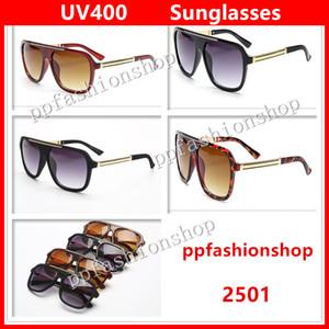 Luxus 2501 Sonnenbrille-Marken-Entwerfer Männer Frauen Mode Sonnenbrillen UV-Schutz-Objektiv Top-Qualität mit ursprünglichem Kasten