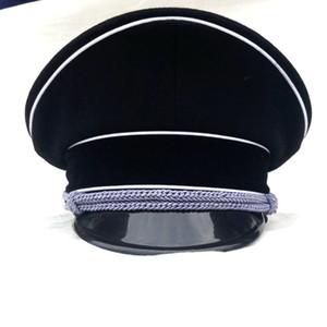 Второй мировой войны немецкий АРМИЯ Elite Officer Hat Cap директор Black В SIZES- World магазин
