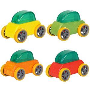 캔디 컬러 미니 나무 자동차 장난감 어셈블리 모델 자동차 장난감 교육 분리형 장난감 자동차 아이를위한 어린이 좋은 크리스마스 선물