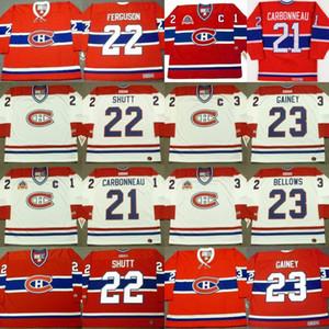 Jersey de los Montreal Canadiens 21 GUY CARBONNEAU 10 GUY LAFLEUR 6 PIERRE MONDOU 22 JOHN FERGUSON 25 VINCENT DAMPHOUSSE Hockey Hockey Jerséis