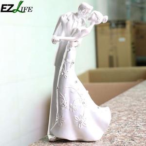 1 الزفاف ريفي قبلة العروس pc الحب كعكة توبر الزفاف والوقوف كعكة العريس اكسسوارات زوجين الديكور welkw