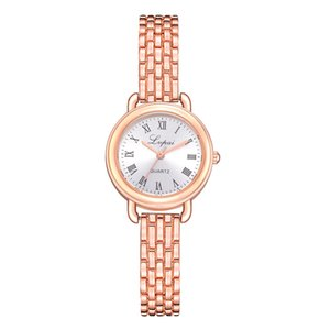 Lvpai  Watches For Women Simple Rose Dial Sports Student Clock Dress Watch Fashion Ladies Wrist Watch 2018