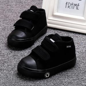 LABIXIAOXING 베이비 화이트 캔버스 신발 4 색 아동 베이비 걸스 및 소년 캐주얼 신발 평평하고 내구성이 뛰어난 운동화