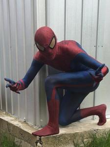 Alta calidad superhéroe increíble Spider Man Cosplay traje Spiderman traje cosplay