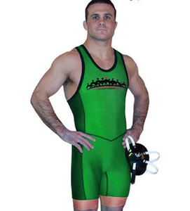 Badiace Tiger Tight Wrestling Singlet Gym Power Weight Lifting Outfit Man Tights One Piece Wrestling Gear can Custom Logo