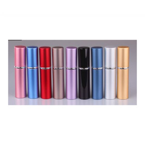 6 ml Mini Portátil Recarregável Perfume Atomizador para perfume Colorido Garrafa De Spray De Viagem Vazio Frascos De Perfume atomizador Recipientes Cosméticos