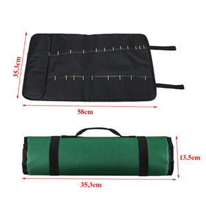 Slots Hbhst Knife Pocket Bag Storage 20 Portable Kitchen Carry Case Bag Chef Roll Vlwsw