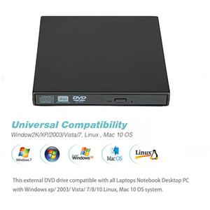 2019 External DVD Optical Drive USB 2.0 DVD-ROM Player CD DVD-RW Burner Reader Writer Recorder Portatil for Windows Mobile PC