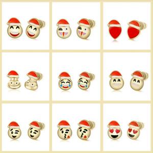 NEW Christmas Ornaments Calendar Gift Box 15PCS Face Beads 1PCS Bracelet 8 Pairs Stud Set DIY gift Jewelry making Accessory11