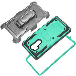 Per Pro 2 Z982 cinghia della copertura della clip Shock ZTE Blade Forza N9517 X Z965 N9137 Z Max Cavalletto copertura della prova completa custodia protettiva Body Armor duro