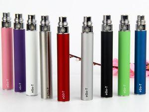 EGO Bateria para cigarro E-cig eletrônico Ego-T jogo 510 Tópico CE4 atomizador CE5 clearomizer CE6 650mAh 900mAh 1100mAh 10 cores